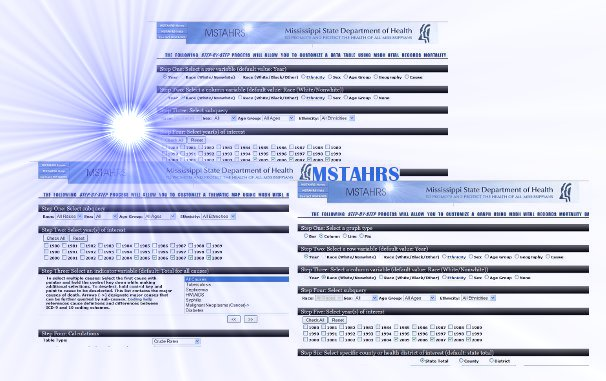 MSTAHRS - Mississippi STatisically Automated Health Resource